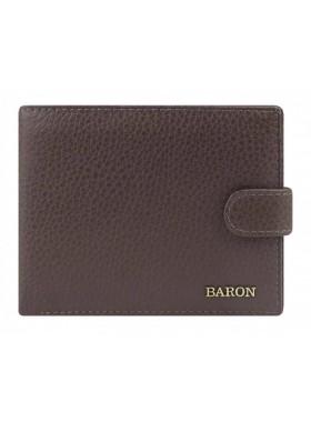 Портмоне Baron 0-02В фл мокко