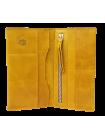 Портмоне кошелек для документов и денег Вояж табачно-желтое Apache
