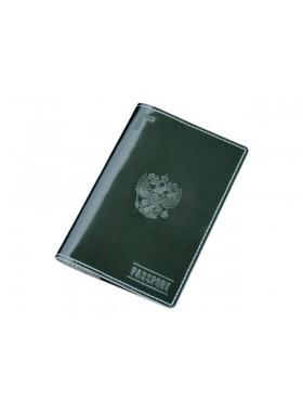 Обложка для паспорта ОП-О зеленый Эллада