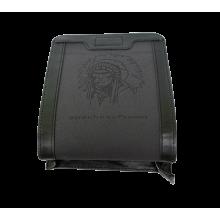 Сумка кожаная мужская дымчато-черная СМ-3013-А Apache