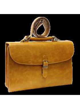 Портфель деловой ПД-9413-А табачно - желтый Apache