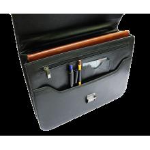 Деловой портфель из натуральной кожи Д-1 Person