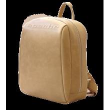 Кожаный рюкзак друид бежевый P-9013-A Apache