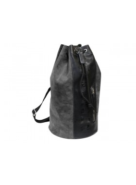Сумка рюкзак через плечо С-9214-А серая Apache