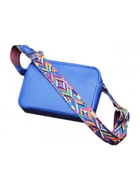 Женская сумка кросс боди Libellula синяя Person