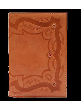 Бумажник водителя БС-9 цвета коралл Kniksen